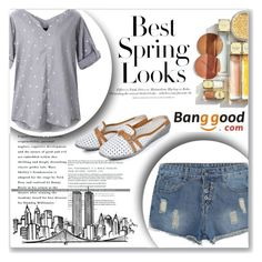 """Banggood #8"" by little2amsterdam ❤ liked on Polyvore featuring H&M"