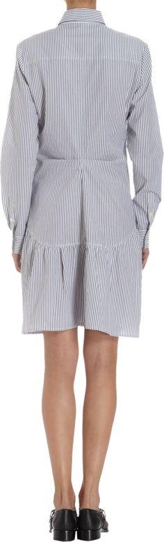 Thakoon Addition Long Sleeve Shirt Dress at Barneys.com