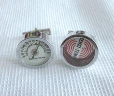 Vintage Sensi Temp CUFFLINKS General Electric AD by jewelryannie, $19.99