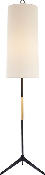 FRANKFORT FLOOR LAMP   I like how long this shade is.