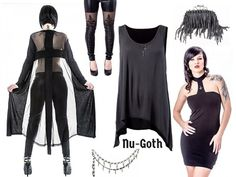 Gothic Style: Glam Goth vs. Nu-Goth   Queen of Darkness