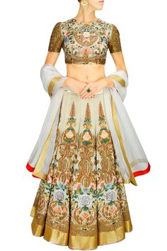 Samant Chauhan lehengas... Beautiful wedding outfit