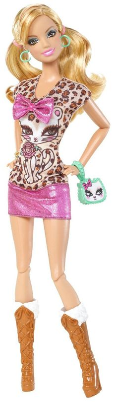 Mattel Barbie Fashionistas Doll - Summer - Free Shipping