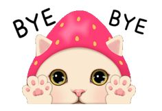 Bye Bye, Tom And Jerry, Line Sticker, Stickers, Cat Day, Cartoon Characters, Hello Kitty, Animation, Google Search