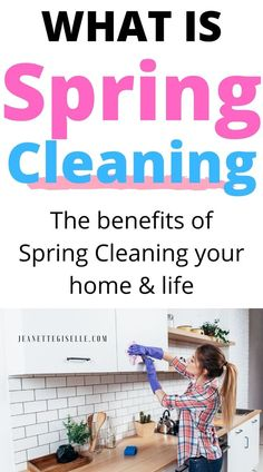 Spring is the perfect time to learn the best household cleaning tips! But do you really know what spring cleaning is? Read to learn everything you need to know about some house cleaning tips, cleaning hacks and get a cleaning checklist. Home Cleaning Schedule Printable, Spring Cleaning Schedules, Household Cleaning Schedule, Room Cleaning Tips, Spring Cleaning Organization, Spring Cleaning Checklist, Speed Cleaning, Weekly Cleaning, Deep Cleaning Tips