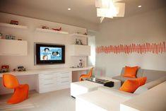 Kids homework/lounging area - Loft area above kitchen???