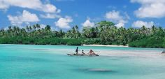 Kayak in the waters of Efate Island