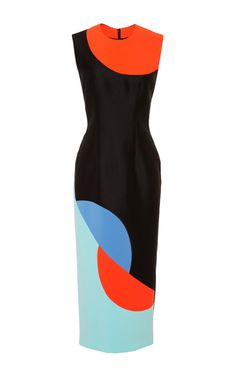 Colour blocking: Black Allerton Dress by Roksanda Ilincic Roksanda, Colorblock Dress, Dress Me Up, Dress To Impress, Beautiful Dresses, Fashion Dresses, Style Inspiration, Summer Dresses, My Style