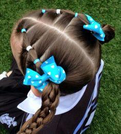 Peinados Para Niñas Escuela, Peinados Escolares Niñas, Peinados Para Nenas, Trenzas Y Peinados, Peinados Kathe, Peinados Angelica, Peinados Marijose,