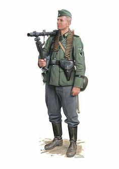 Wehrmacht Early War Machinegunner