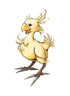 I am a chocobo... thats what I tell SO when I dont want to do dishes any way (chocobo's dont have fingers...)