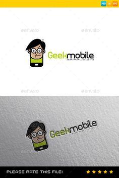 Phone Logo — Photoshop PSD #creativity #logotype • Available here → https://graphicriver.net/item/phone-logo/9182615?ref=pxcr