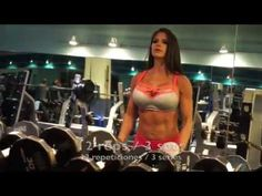 MICHELLE LEWIN - complete shoulder workout - YouTube
