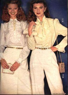 80s Womens Fashion, 1940s Fashion, Vintage Fashion, Retro Outfits, Vintage Outfits, 1990 Style, 20th Century Fashion, 80s Outfit, Fashion Catalogue