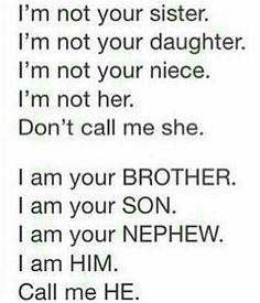 Ftm   I am a boy
