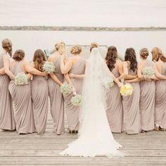#repost @trishtrashin • #bridesmaids in our Ingrid Dress by Pia Gladys Perey #whiterunway #weddingfash #realrunway
