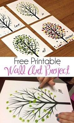 Love in All Seasons – Free Printable Art Project