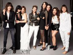 L Word: Sarah Shahi, Mia Kirshner, Leisha Hailey, Erin Daniels, Daniela Sea, Kate Moennig, Jennifer Beals