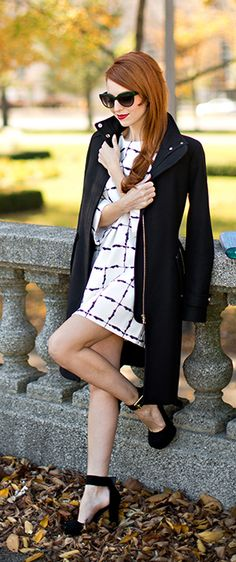 Chic in PLAID? YES!! see the full look here -> gildedmaven.com