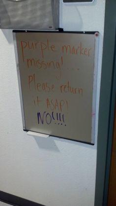 Marker Missing