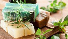 Folgen Sie unserer einfachen Rezept und machen sie selber duftende grüne Seife mit Zitrone und frischen Kräutern!