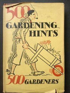 500 Gardening Hints via @DesignMuseum