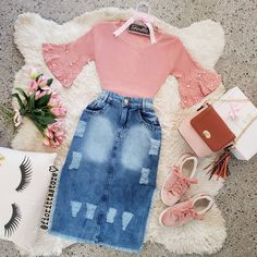 Cute Girl Outfits, Classy Outfits, Chic Outfits, Beautiful Outfits, Girls Fashion Clothes, Modest Fashion, Girl Fashion, Fashion Dresses, Modest Wear