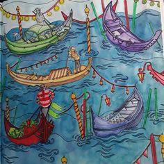 Escape to Shakespeare's World #goodwivesandwarriors #escapetoshakespearesworld #acolouringbookadventure #peerlesswatercolors #derwentinktense #staedtlertriplusfineliner #coloringforadults #lovetocolor #lovecolors