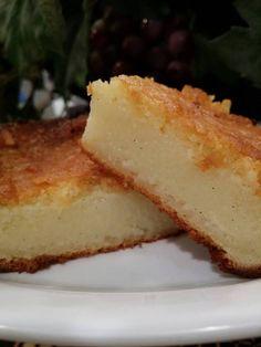 Buttery Custard Mochi