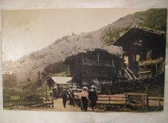 c.1915 Post Card  Murren Switzerland  Street Scene by StarPower99, $6.00