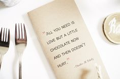 We sure all love chocolate!