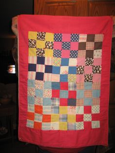 This doll quilt was made for me by my Grandmother 52 years ago!!