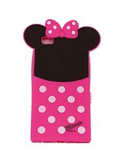 cool Carcasa para Huawei Ascend P8Lite Case nueva llegada Beau dibujo animado Minnie ratón forma de silicona flexible retorno funda para portátil alta calidad