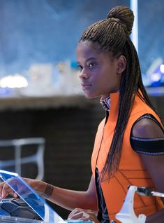 Black Panther's Shuri Is The Gadget Genius We've Been Waiting For http://r29.co/2oby4fB