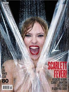 Scarlett Johansson en la portada de V Magazine