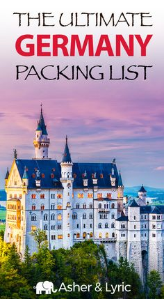 17 Top Germany Packing List Items + What to Wear & NOT to Bring (2019). Enjoy your Germany trip to the fullest - don't forget to pack these top items! We've also included a guide for what to wear and seasons in Germany, plus answers to other top FAQs.