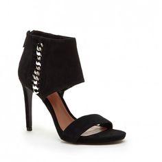 Women's Black Suede 4 Inch Suede Heel | Freya by Vince Camuto
