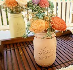 Wedding Centerpiece Flowers, Wedding Reception, Wedding Decor, Sola Flowers, DIY Wedding, Shabby Chic Wedding, Rustic Wedding on Etsy, $15.00