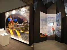 The North Face stand on ISPO Munich 2014 by International Orange & Aram…