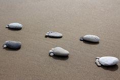 pebble feet