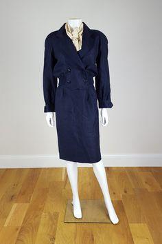 VINTAGE COURRÈGES Ladies Two Piece Skirt Suit 00