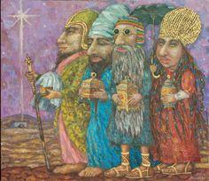 artist Kallistova Elena, Gifts To Volkhov