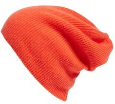 Shop Now - >  https://api.shopstyle.com/action/apiVisitRetailer?id=540884306&pid=uid6996-25233114-59 Women's Halogen Slouchy Cashmere Beanie - Red  ...