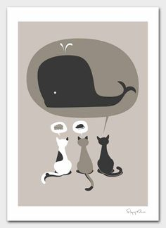 Poster Print - Dream Big by Flying Mouse 365 on Etsy, $30.00