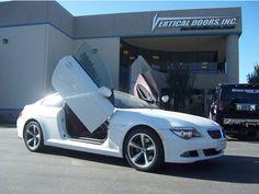 """BMW 6 Series. 2 Door. """"Bolt-On"""" Lambo Door Conversion kit. 2003, 2004, 2005, 2006, 2007, 2008, 2009, 2010"""