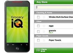 I love this app b/c it will sort my list by aisle! No more getting to aisle 47 and realizing I need an item on aisle 2. But as for the sharing the list with other family members to shop for you...yeah, right, like my husband goes to the grocery store.