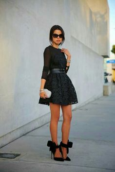 A new years style dress