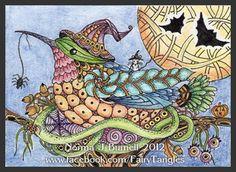 Fairy Tangles Halloween Hummer II