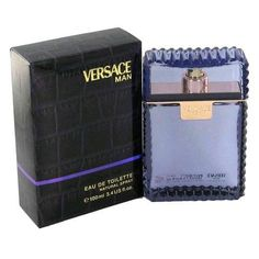 Versace Man Cologne by Versace 3.4 oz Eau De Toilette Spray for Men New In Box #GianniVersace