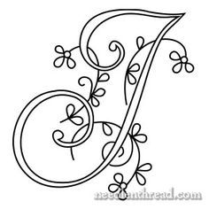 Monogram for Hand Embroidery:Links to alphabet Embroidery Alphabet, Embroidery Monogram, Paper Embroidery, Hand Embroidery Patterns, Embroidery Stitches, Machine Embroidery, Monogram Alphabet, Cross Stitching, Needlework